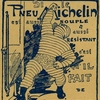 Publicité exerciseur Michelin - 1904