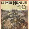 le pneu Michelin a vaincu le rail